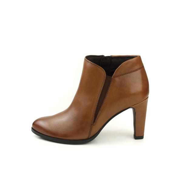 HUMAN PEACE 短靴 靴子 細跟 牛皮 咖啡色 女鞋 7510-03 no056