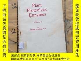 二手書博民逛書店Plant罕見Proteolytic Enzymes.volum