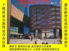 二手書博民逛書店Urban罕見Spaces No.2:The Design of