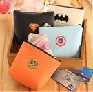 (不挑款) 可愛英雄聯盟Logo零錢包 pu材質 收納小包
