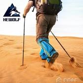 雪套戶外登山防水防雪鞋套防沙防蛇腳套女護腿男沙漠裝備徒步高筒 多色小屋