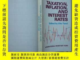 二手書博民逛書店TAXATION罕見INFLATION AND INTEREST
