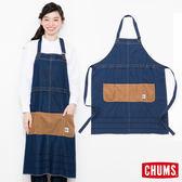 CHUMS 日本 職人風格 圍裙 多功能工作服 丹寧藍 CH091030N030
