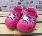 【震撼精品百貨】Hello Kitty 凱蒂貓~台灣製Hello kitty正版兒童布希鞋-桃蝴蝶結(15~20號)#19272