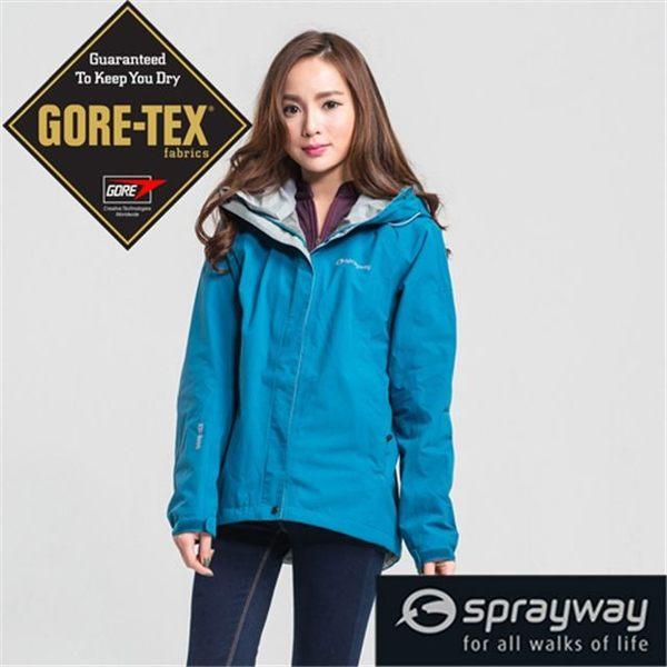 Sprayway 英國 GT防水透氣外套 女 藍 SP-001389 風雨衣 GTX Gore-Tex [易遨遊]