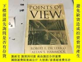 二手書博民逛書店英文原版:POINTS罕見OF VIEW Readings in American Government and