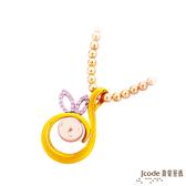 J'code真愛密碼珍 圓滿花戀黃金/純銀/珍珠 珍珠項鍊
