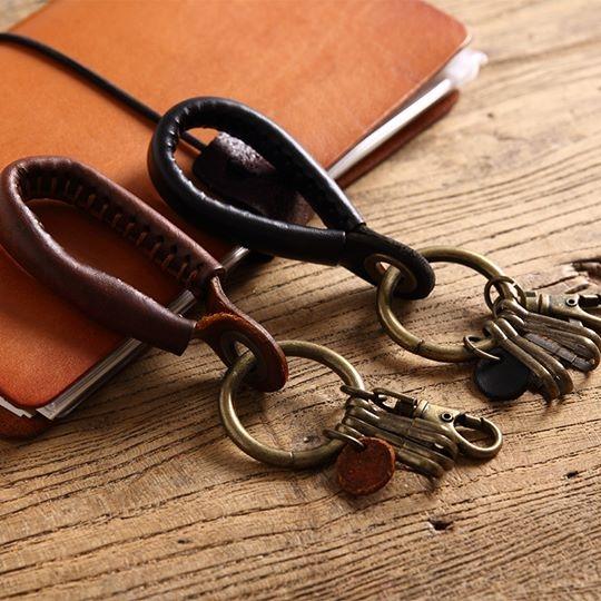 聚多釦皮革鑰匙圈