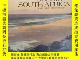 二手書博民逛書店原裝英文精裝本《scenic罕見south Africa》風景秀