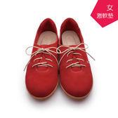 【A.MOUR 經典手工鞋】氣墊漫步鞋 - 紅  /氣墊鞋 /平底 / 超輕休閒 / 超軟漫步鞋 /DH-7900