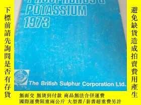 二手書博民逛書店PHOSPHORUS罕見& POTASSIUM.1973(磷和鉀
