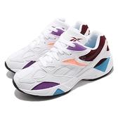 Reebok 休閒鞋 AZTREK 96 Reinvented 白 紫 男鞋 運動鞋 【ACS】 EF7620