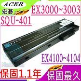 ACER電池-宏碁電池 EXTENSA 2300電池,3000,4100,SQU-401,T5005,BT.T5003.001,SQU401,916-2990,916-3020