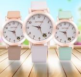 兒童手錶 韓版中小學生手錶女童防水電子石英錶兒童手錶女孩男孩可愛卡通錶 都市韓衣