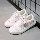童鞋兒童女童新款春季新款帆布鞋寶寶板鞋透氣公主鞋運動鞋子