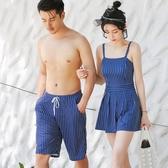情侶泳衣復古海邊度假溫泉【奇趣小屋】
