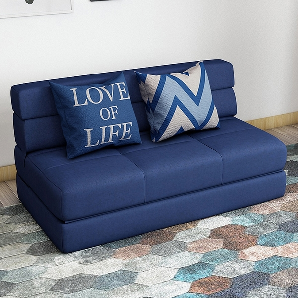 小C推薦 沙發床 懶人沙發 小戶型單人折疊沙發床 簡約多功能榻榻米 臥室雙人小沙發