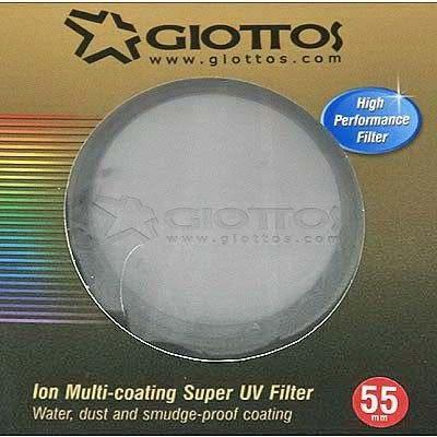 24期零利率 捷特 GIOTTOS 超級離子 十六層 多層鍍膜UV濾鏡 / 保護鏡 ~ 55mm