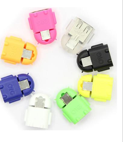 micro usb otg 轉接頭 顏色隨機出貨