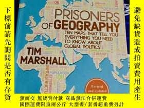 二手書博民逛書店Prisoners罕見of Geography: Maps That Tell You Everything Yo