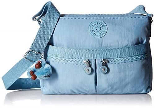 【美國代購】Kipling Angie手提包 -  Blue Beam Tonal