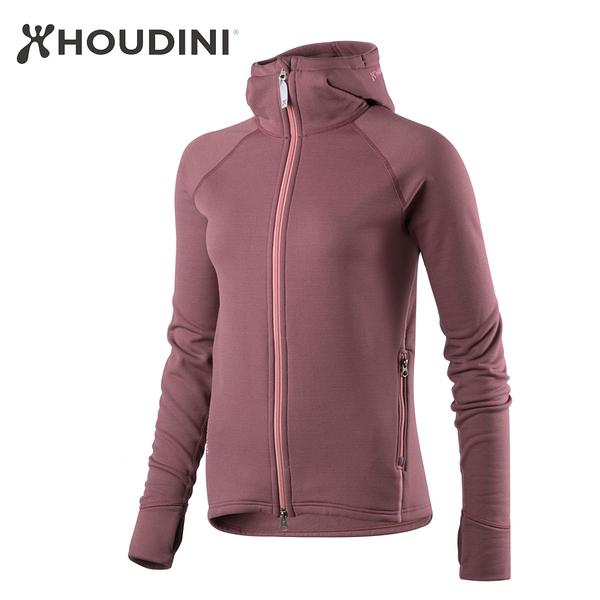 [瑞典  HOUDINI ] W's Power Houdi 保暖中層外套 女款 (果皮紫)