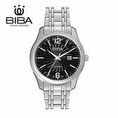 法國 BIBA 碧寶錶 經典系列 藍寶石玻璃 石英錶 B121S204B 黑色 - 40mm