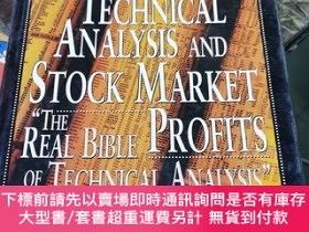 二手書博民逛書店Technical罕見Analysis And Stock Market Profits 技術分析和股票市場盈利奇