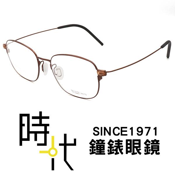 【台南 時代眼鏡 VYCOZ】MAX-Wire系列 光學眼鏡鏡框 RETO BRN 韓系時尚簡約俐落風格 50mm