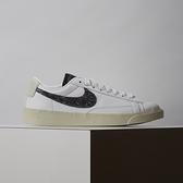 Nike W Blazer Low SE 女鞋 白黑 基本 簡約 皮革 休閒鞋 DA4934-100