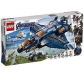 【LEGO樂高】超級英雄 復仇者聯盟 終極昆式戰鬥機 #76126