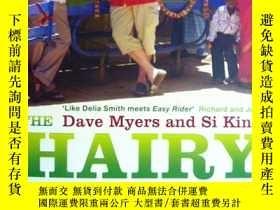二手書博民逛書店英文原版罕見The Hairy Bikers Ride Agai