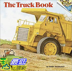 [106美國直購] 2017美國暢銷兒童書 The Truck Book Paperback