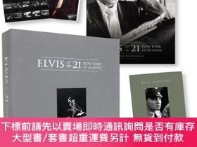 二手書博民逛書店預售貓王全球豪華限量版Elvis罕見at 21 : New York to MemphisY274822 pe