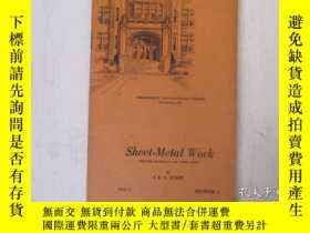二手書博民逛書店民國:Sheet罕見Metal Work [USA]Y23766