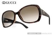 GUCCI 太陽眼鏡 GG3729FS INIHA (深邃琥珀) 低調沉穩魅力風尚經典LOGO款 # 金橘眼鏡