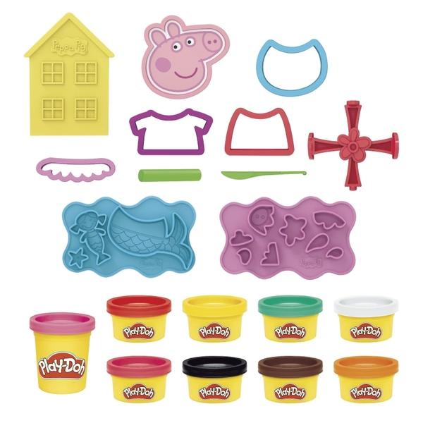 培樂多黏土Play-Doh 粉紅豬小妹變裝組