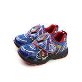 變形金鋼 TRANSFORMERS  運動鞋 魔鬼氈 舒適 藍色 中童 童鞋 TF5169 no697