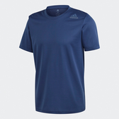 Adidas HEAT.RDY男款深藍色透氣運動短袖上衣-NO.fm2103
