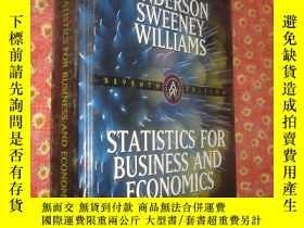 二手書博民逛書店Statistics罕見for Business and Eco