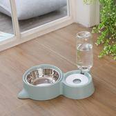 狗盆狗碗貓碗雙碗自動飲水食盆狗狗碗貓咪水碗防打翻飯盆寵物用品-Ifashion