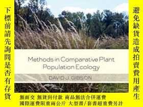 二手書博民逛書店Methods罕見In Comparative Plant Po