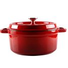 鑄鐵琺瑯湯鍋22cm經典紅
