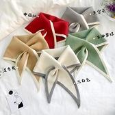 圍巾女薄款三角巾百搭針織圍巾護頸椎脖套冬季【櫻田川島】