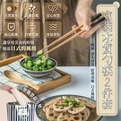 盒裝木質勺筷 2件套 安心檢驗報告 環保餐具 隨身餐具 環保筷木餐具【AG0503】《約翰家庭百貨