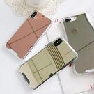 極簡 鏡面 四角空壓防摔 補妝鏡 防摔殼 iPhone 12 11 Pro Max XR Xs 7/8 SE2 蘋果 手機殼