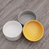 陶瓷貓碗架子狗狗盆加菲貓專用扁臉碗木質貓盤飯碗貓咪吃飯防螞蟻京都3C