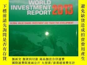 二手書博民逛書店World罕見Investment Report 2013(世界