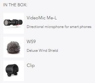 【金聲樂器】RODE VideoMic Me-L 手機用指向麥克風 正成公司貨