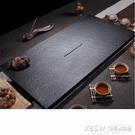 烏金石茶盤70公分天然石頭茶盤整塊石材黑金石茶海簡約家用茶台CY『新佰數位屋』